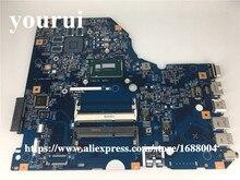NBVB111003 NB VB111.003 placa base de computadora portátil para acer Asipre E5-772G 448,04 M X 09.001 M SR27G i3-4005U CPU a bordo placa principal