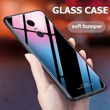 Voor Xiaomi Redmi Note 4X Case Luxe Slim Glossy Gehard Glas Hard Cover Voor Xiomi Xiaomi Redmi 4X Note 4 global Versie MTK