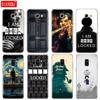 Silikonowy futerał na telefon pokrywa dla Samsung Galaxy A8 2018 A3 A310 A5 A510 A7 2016 2017 Sherlock Holmes Sherlocked
