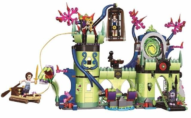 Elves Breakout de la fortaleza del rey duende Compatible con 41188 30011 bloques de construcción lepining lepinblocks juguetes de regalo