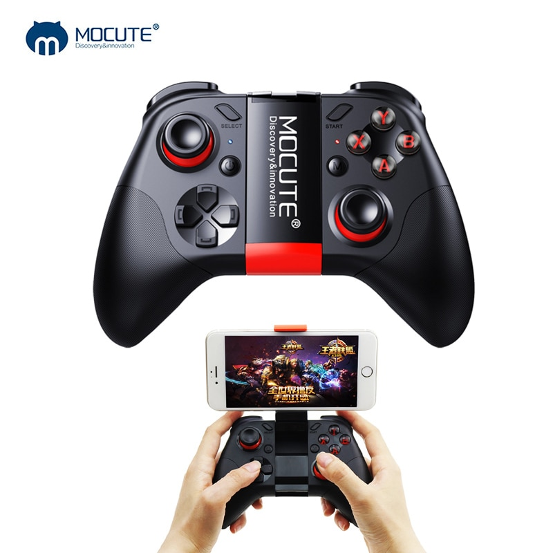 Mocute 054 Game Pad Bluetooth Gamepad Controller Mobile Trigger Joystick For iPhone Android Phone Ce