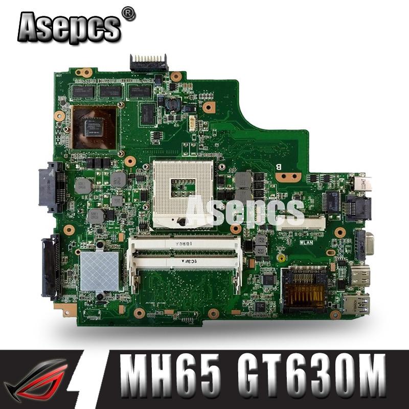 Asepcs K43SM laptop Motherboard Para For Asus X43S A43S K43S A83S A84S K43SJ K43SV Mainboard 100% OK HM65 GT630M/1 GB