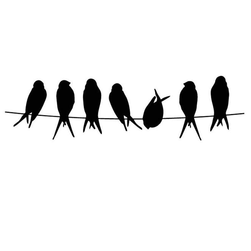 AZSG un grupo de bonitos pájaros sellos transparentes para Scrapbooking DIY Clip Art/tarjetas de decoración sellos artesanías