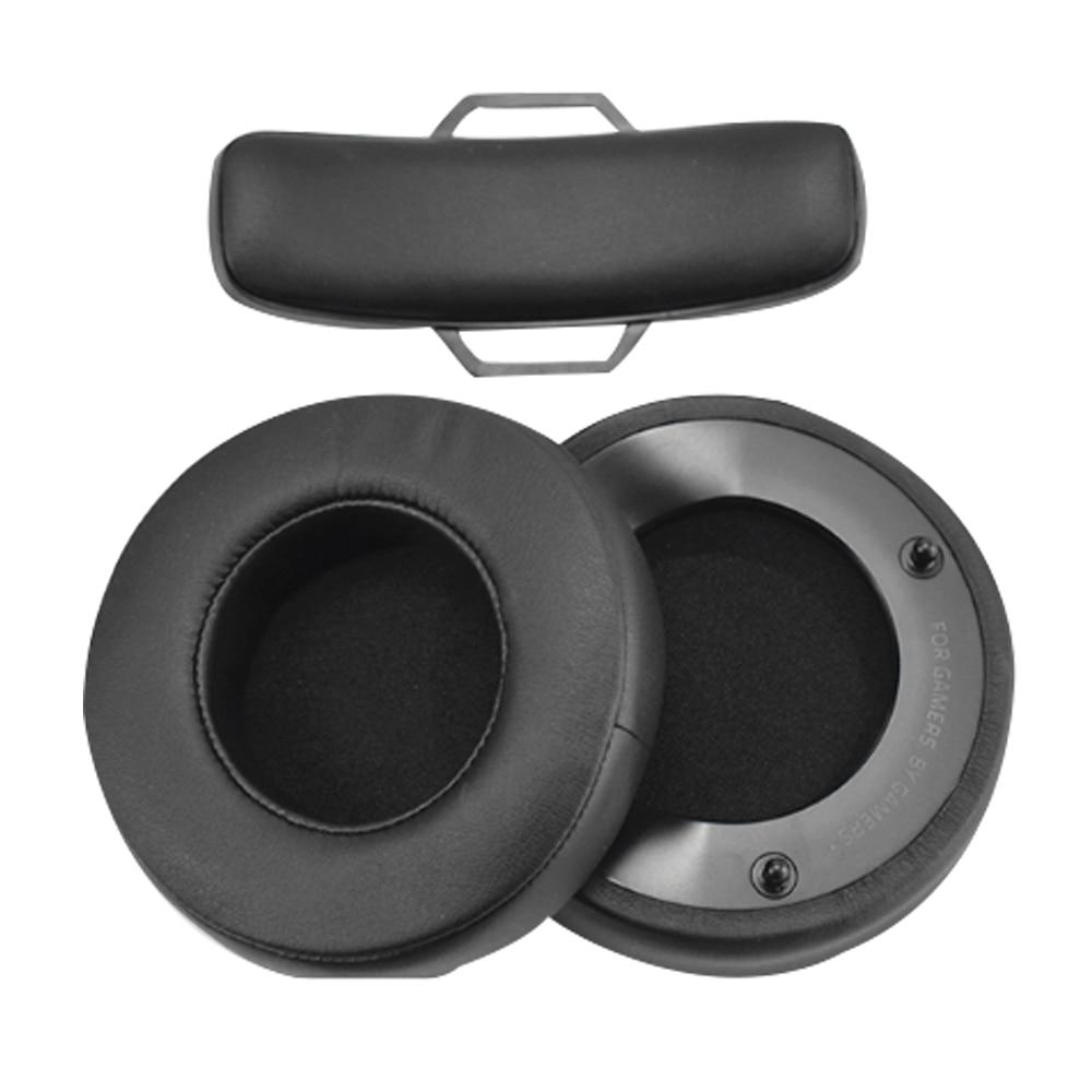 Replacement ear pads cushion for Raze7.1 ManOWar Bluetooth Wireless Headphones
