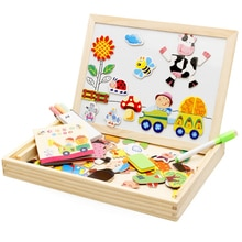Planche à découper Puzzle avec les mots de lalphabet anglais, apprentissage et éducation, jouets pour enfants, jouets magnétiques de Puzzle