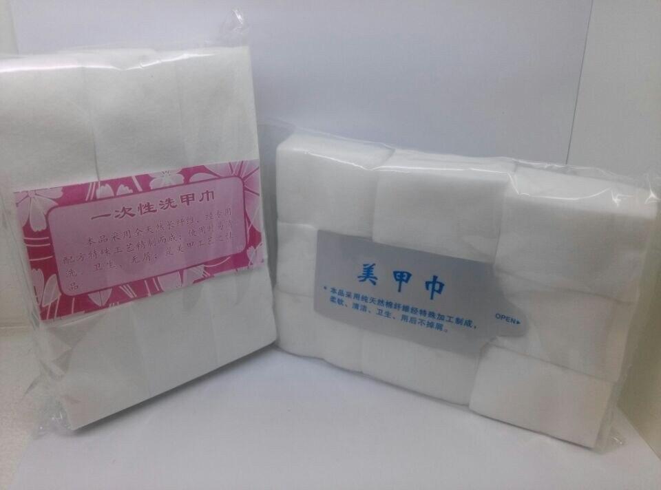 4500 pcs prego wips Manicure Polonês Removedor de Limpeza Limpe Cotton Pad Set Papel 3 saco/lote Frete Grátis # CP-1001