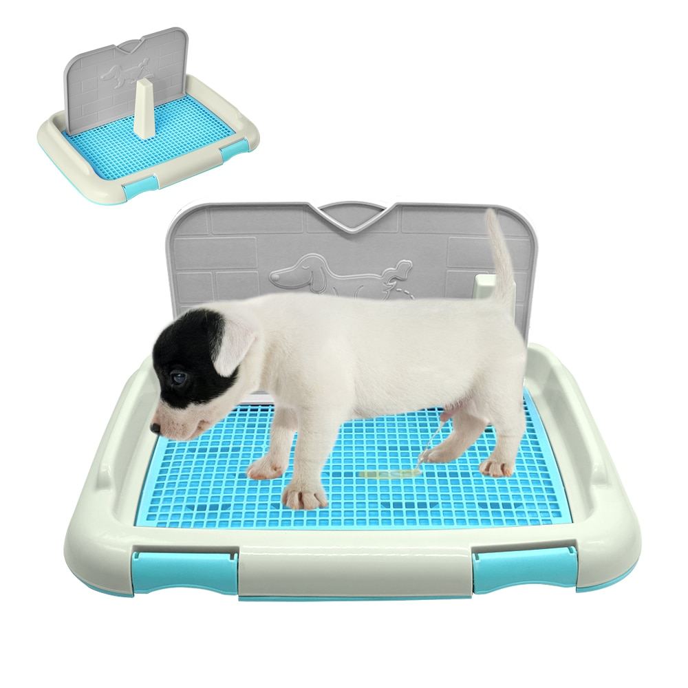 صينية مرحاض لتدريب الحيوانات الأليفة ، سجادة شبكية داخلية ، جرو ، قعادة ، إكسسوارات للكلاب الصغيرة ، القطط ، منتجات الحيوانات الأليفة