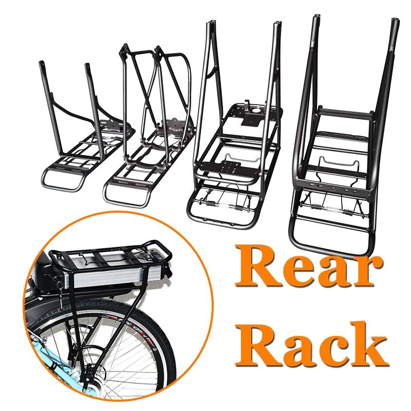 Einstellbare 20/24/29 26inch 700C /28 Bike Hinten Rack Doppel Schicht Elektrische Fahrrad Batterie Träger Gepäck Rack Fahrrad Zubehör
