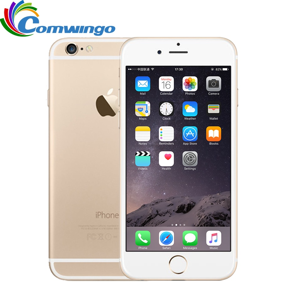 Original Unlocked Apple iPhone 6 & 6 Plus Cell Phones 16/64/128GB ROM 4.7 / 5.5'IPS GSM WCDMA LTE IO