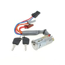 New Ignition Starter Switch Lock Barrel 6 Pin 2 Keys For Peugeot 1993-2002 306 Hatchback /Coupe /Estate /Saloon