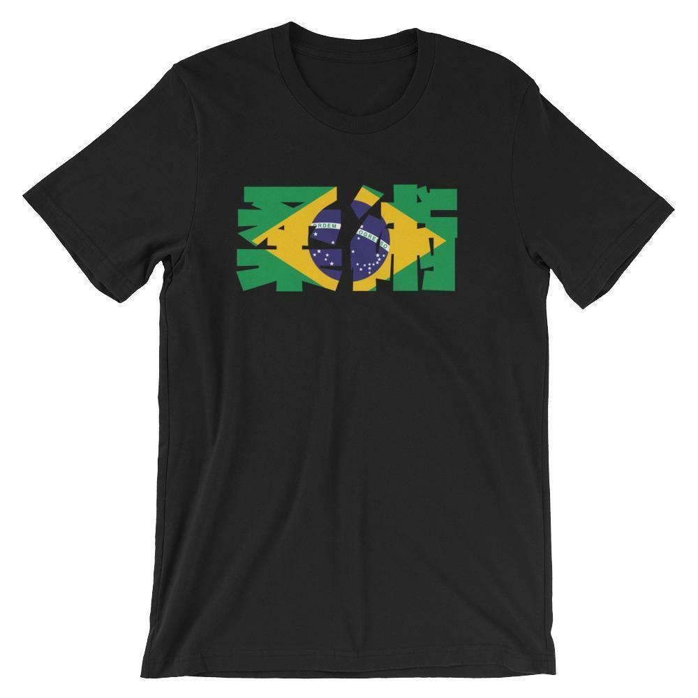Camiseta Unisex de manga corta para hombre de Jiu Jitsu de Brasil