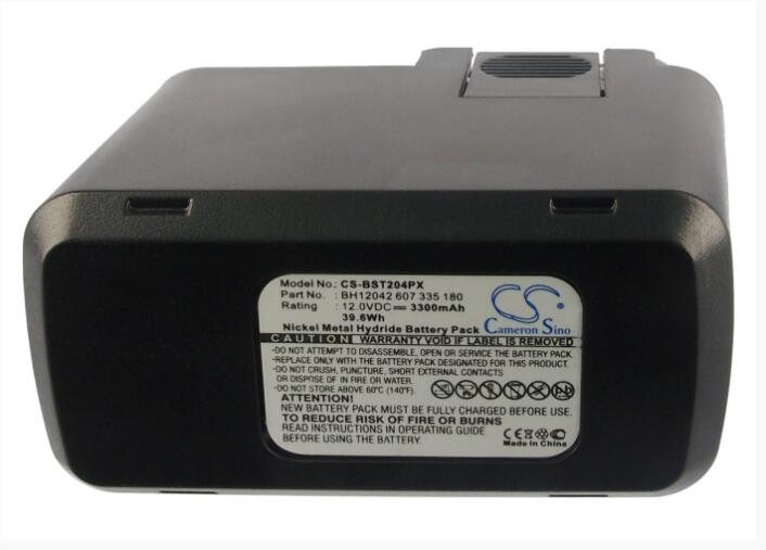 Cameron Sino bateria 3300 mAh para BOSCH GBM 12VE 12 VEBS 12VES 12VES-2 12 VESP 12 VSP-3 12VSP-2 IASR 2490 2 607 335 021