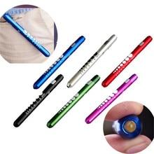 Medical Pen Light First Aid LED Pen Light Work Inspection Flashlight Torch Doctor Nurse EMT Emergency Multi Function D#3