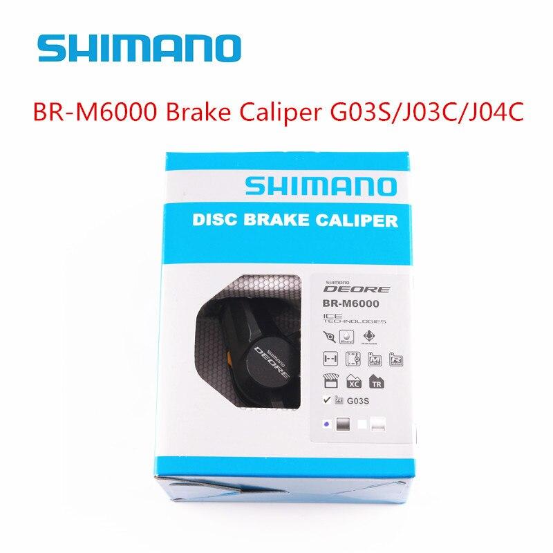 Calibradores de freno de disco hidráulico shimano DEORE M6000 m615 para bicicleta mtb