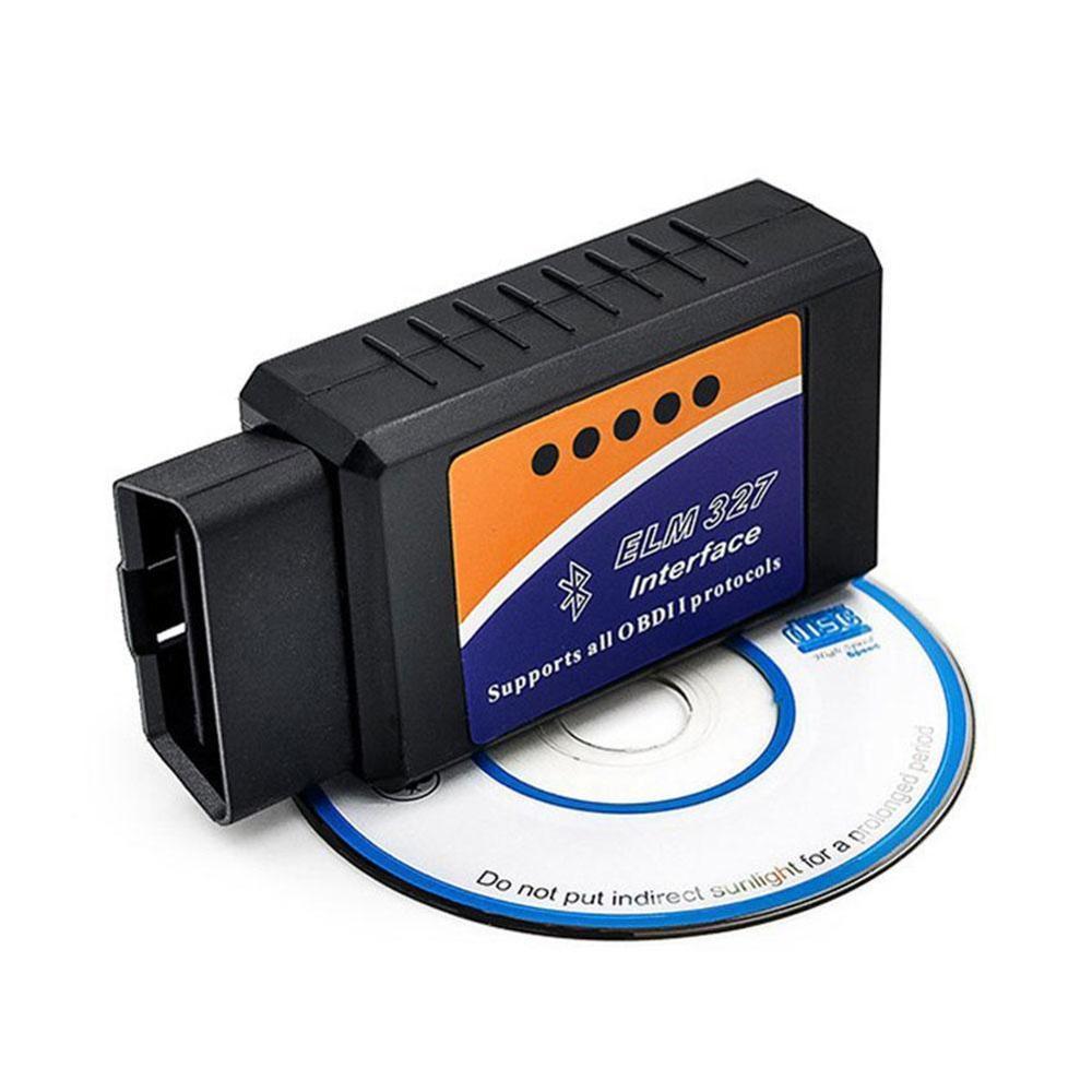 OBD2 ELM327 V1.5 Bluetooth/WIFI herramienta de diagnóstico de coche ELM 327 OBD lector de código Chip PIC18F25K80 trabajo Android/IOS/Windows
