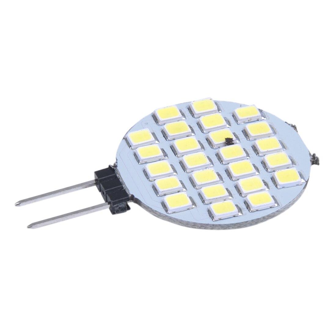 Nuevo G4 1210 SMD 24 bombilla LED, bombilla blanca, 6000-6500K DC 12V