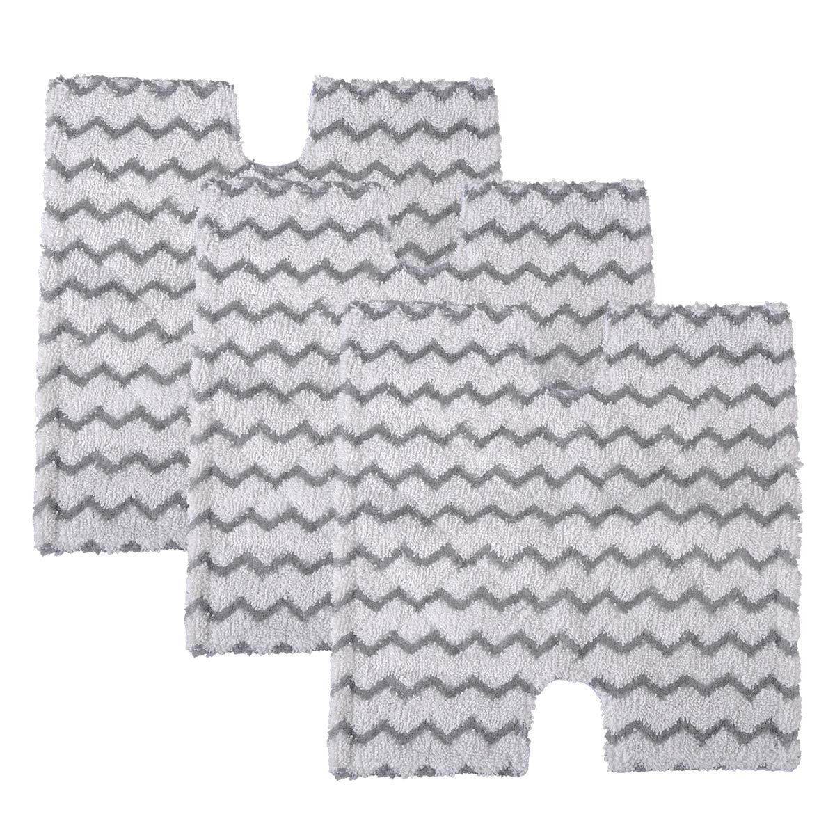 2pcs replacement steam mop pads for shark s3973 s6001w steam mop cloth cover pad floor steam cleaner mops for shark s5003a s6002 Steam Mop Pads Replacement for Shark Lift-Away & Genius Steam Pocket Mop S3973D S6002 S5003D S6001 S6003 S5001 S5002 S3973WM