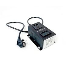 220 V/6000 W SCR régulateur de tension électronique température moteur ventilateur régulateur de vitesse variateur outil électrique réglable