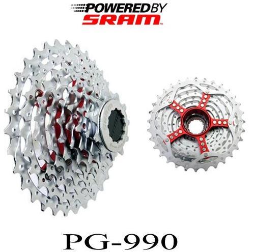 Кассеты SRAM PowerGlide PG 990 PG-990, горный велосипед, freewheel 9s PG990 11-32T 11-34T