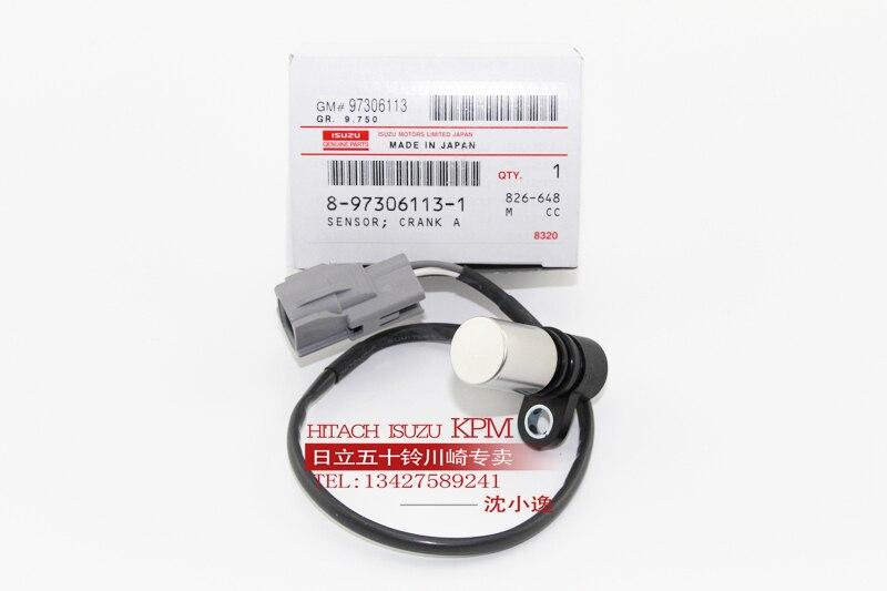 4HK1/6HK1/6WG1/6UZ1 Electrojet achse geschwindigkeit sensor Hitachi Sumitomo Fall JCB