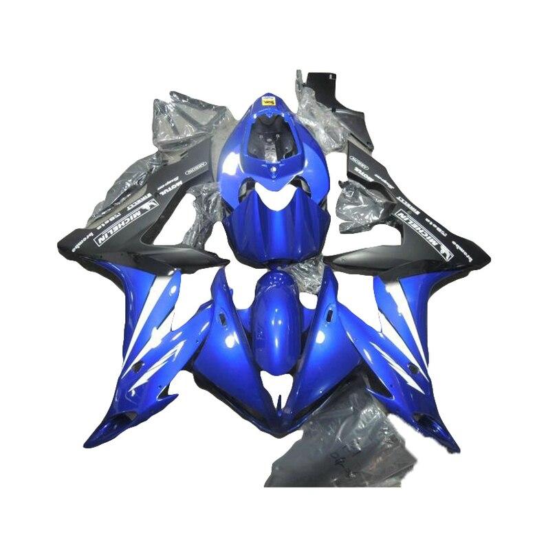 Kit de caronnage personnalisé gratuit   Pour YAMAHA 2005 2004 2006 bleu YZF R1 R1 04 05 06 7 cadeaux SZ59