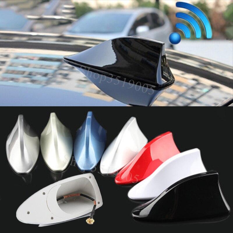 Для SKODA Fabia Combi Octavia RS Scout KAROQ Superb 2 3 4 2016 2017 автомобильная антенна плавник акулы сигнальные антенны Автомобильные наклейки аксессуары
