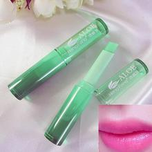 2020  Lipstick Women Aloe Vera long lasting color Changing Moisturizing Lipstick Makeup Tool