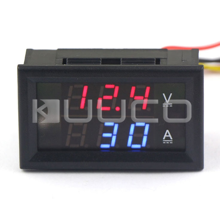 DC 12V 24V Painel Medidor/Medidor Digital DC 0 ~ 300 V/300A Amperímetro Voltímetro 2in1 digital Medidor de Corrente de Tensão/Monitor/Tester