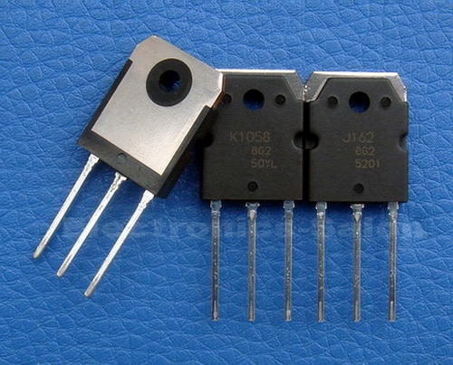 (10 unids/lote) 2SJ162 y 2SK1058 Original MOSFET J162 K1058.