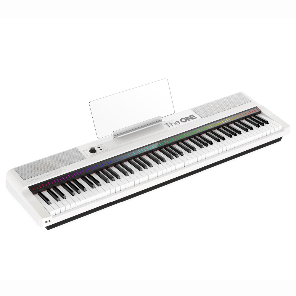 THE ONE 88-KEY PORTABLE LIGHT KEYBOARD WEIGHTED KEYS ELECTRONIC ORGAN MIDI KEYBOARD