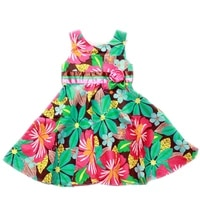 kids childrens clothing dresses summer 100 cotton bowknot sleeveless dresses 2 8 years old