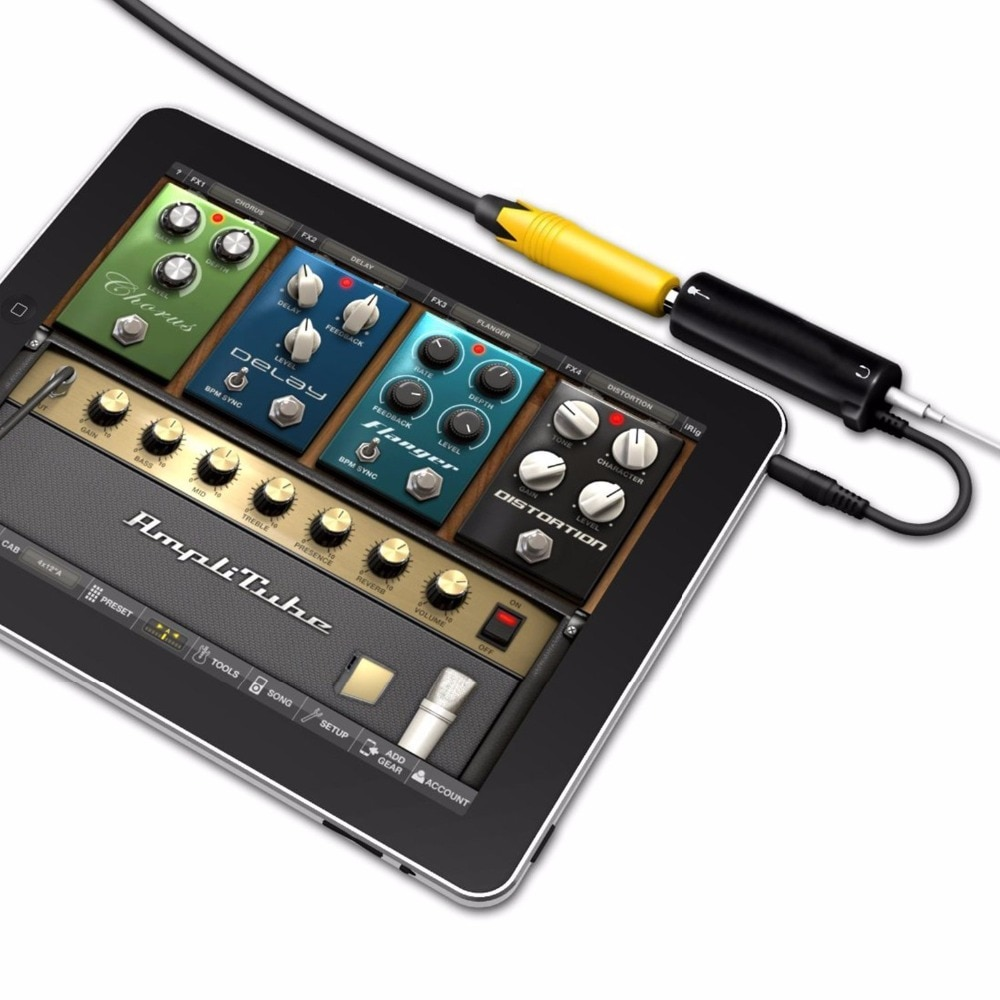 SOACH гитарные эффекты бас аудио интерфейс конвертер эффекты гитарная связь аудио интерфейс адаптер