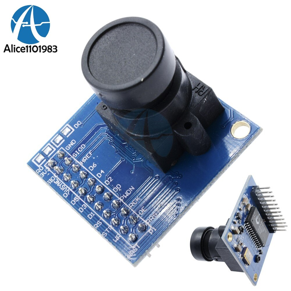 OV7670 VGA CMOS плата модуля камеры AL422 FIFO камера STM32 RGB драйвер модуль SCCB совместимый I2C Diy Kit