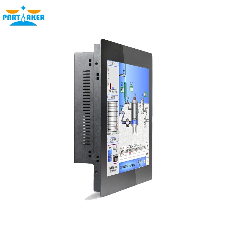 15 Inch All In One PC With 2MM Thin Panel 10 Points Capacitive Touch Screen Intel Celeron J1900 Partaker Elite Z12T 6 RS232 enlarge
