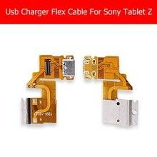 100% Genuine new USB Cobrando Conector Do Cabo Flexível Para Sony Tablet Z pec 341 331 312 USB Cabo do Carregador Flex reparação substituição