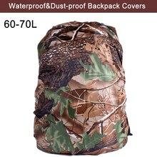 60-70L sac à dos couverture de pluie militaire tactique sacs à dos armée imperméable à leau sac à dos couverture pour la randonnée en plein air Camping chasse