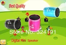 Aluminium shell  Mini speaker , stereo mini Speakers  SD TF card with FM Radio Old Man Music Sports Bike Bicycles