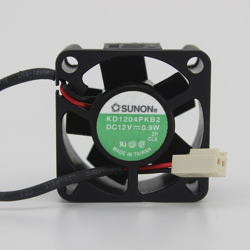 KD1204PKB2 4020 12V 0.9W 4CM switch cooling quiet fan enlarge