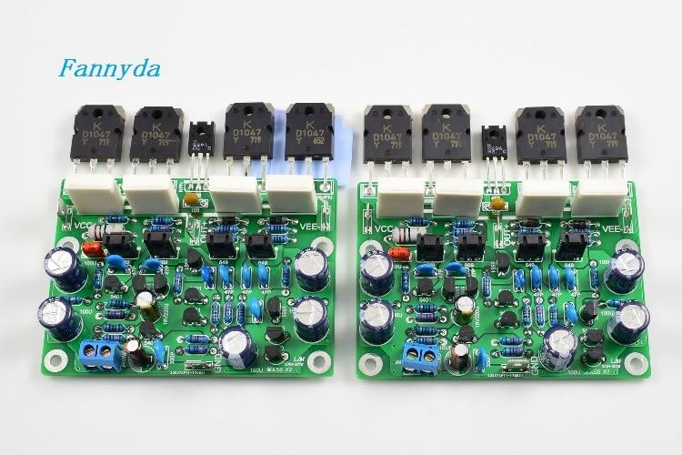 Un par de 2 uds placa amplificadora MX50X2 fidelidad musical X-A50 transistor original de doble canal D1047