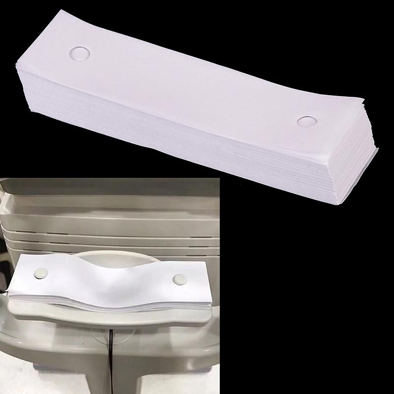 450 feuilles optique repose-menton papier optique repose-menton papier fente lampe ARK papier pour équipements ophtalmiques par paquet reste papier