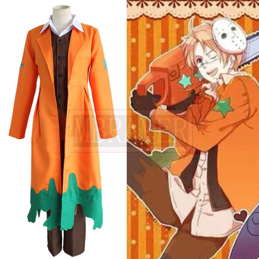 Anime APH Axis Power Hetalia Haloween Ver América Alfred F. Jones cosplay