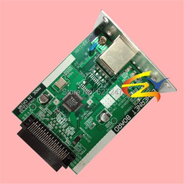 (OEM # FG3-1186) compatible para Canon IR2200 IR2800 IR3300 tarjeta Lan tarjeta Ethernet empaquetada para 6 piezas al por mayor de alta calidad
