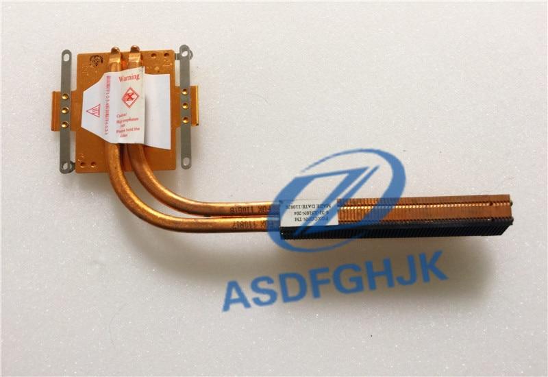 Для CLEVO P170EM P150EM P150HM P70HM GPU радиатор 6-31-X510N-204 хороший тест Бесплатная доставка