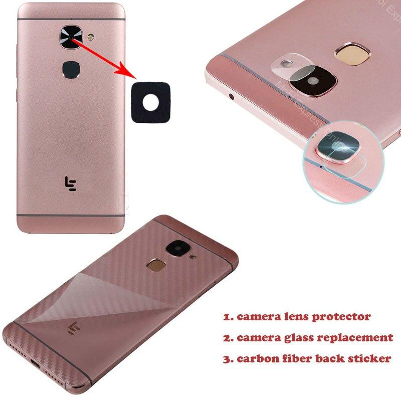Para Letv Leeco Le Pro 3/Cool 1 reemplazo de lentes de vidrio para cámara protector de vidrio templado cubierta de protección de contraportada accesorios adhesivos