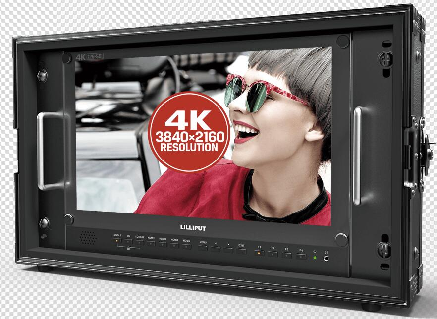 "Lilliput 12GSDI BM150-12G 15,6 ""3840*2160 4K HDMI Monitor Broadcast 12G-SDI-enlace"