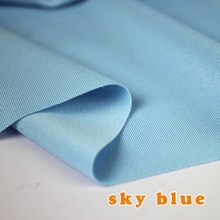 Небесно-Голубой эластичный спандексный трикотажный материал, трикотажная ткань, юбка, эластичное бикини ткани, купальник BTY, бесплатная дос...