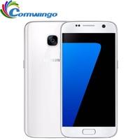 "Original Samsung Galaxy S7 G930F/V/A RAM 4GB ROM 32GB Unlocked 4G LTE GSM Android Mobile Phone Octa Core 5.1"" 12MP 3000mAh"