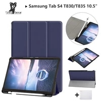 shy bear case for samsung galaxy tab s4 2018 10 5 t830 t835 sm t835 samsung s4 tab pen slot protective stand cover casegift
