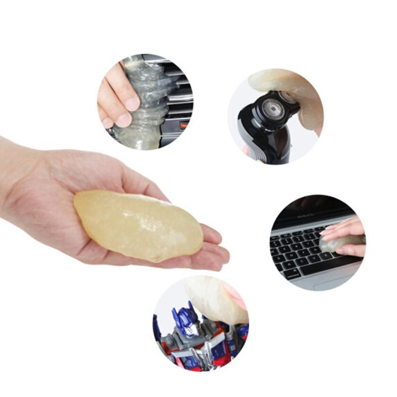 Coche-estilo de teclado gel de limpieza de multifunción limpio para Audi A1 A2 A3 A4 A5 A6 A7 A8 Q2 Q3 Q5 Q7 S3 S4 S5 S6-S8 TT TTS RS3-RS6