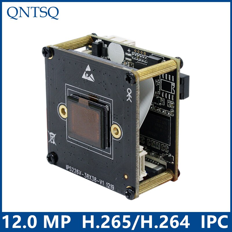 IP Cámara de la Cámara 12,0 MP... IMX226 + HI3519V101 CMOS Módulo de cámara IP PCB Junta DWDR + ONVIF